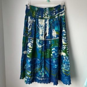 Chaudry Boho Skirt Size L